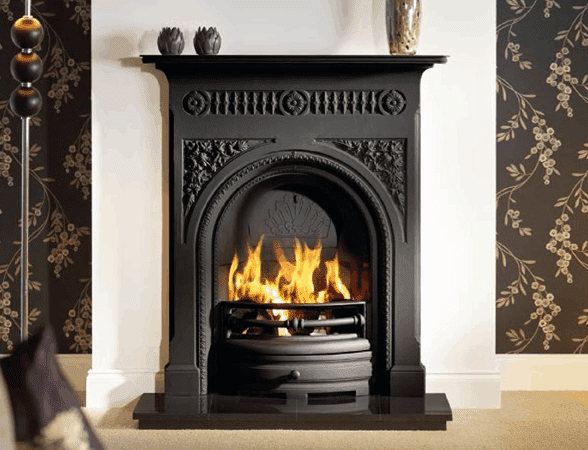 Victorian Fireplaces Cast Iron Wood Electric Fireplaces