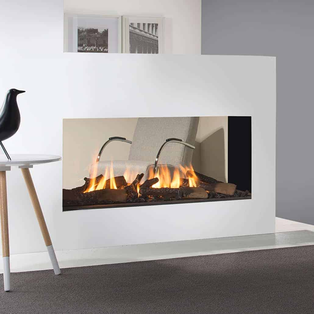 Artisan Tenore 3 Sided Glass Fronted Gas Fire Artisan Fireplace