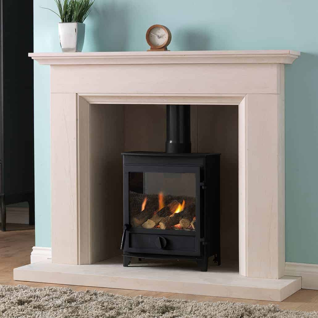 fireplace boafocus contemporaine news focus tight gaz air centrale gas stove