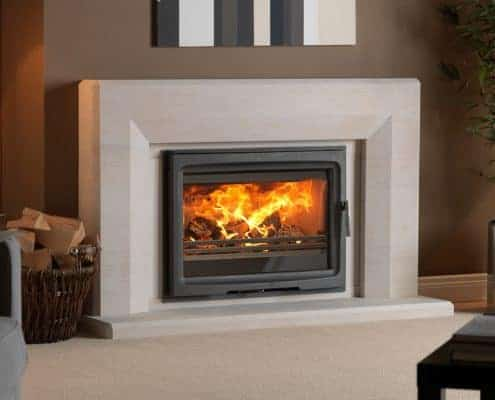 Purevision 8.5kW Inset Stove in Edgemond